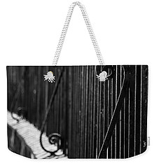 St. Philip's Episcopal Church Cemetery Iron Fence Weekender Tote Bag