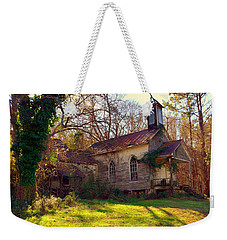 Weekender Tote Bag featuring the photograph St Simon Church Peak Sc by Lisa Wooten