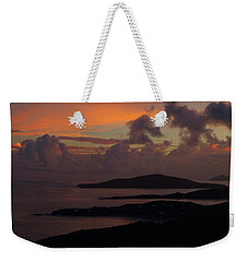 St Thomas Sunset At The U.s. Virgin Islands Weekender Tote Bag