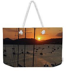 St. Thomas Sunset Weekender Tote Bag