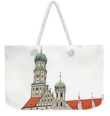 St. Ulrich's And St. Afra's Abbey Weekender Tote Bag
