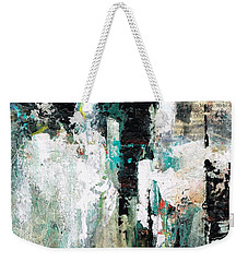 Weekender Tote Bag featuring the painting I Fooled Around And Fell In Love by Frances Marino