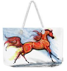 Staceys Arabian Horse Weekender Tote Bag