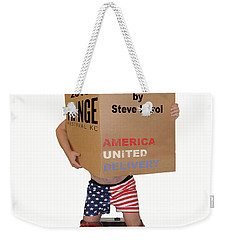 Stackers Poster Weekender Tote Bag by Steve Karol