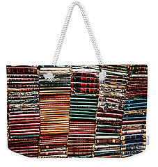 Stacks Of Books Weekender Tote Bag