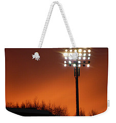 Stadium Lights Weekender Tote Bag