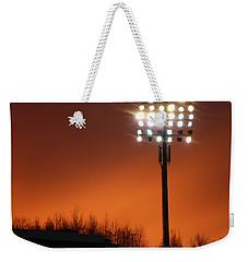 Stadium Lights Weekender Tote Bag by RKAB Works