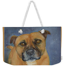 Staffordshire Bull Terrier Weekender Tote Bag