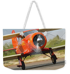Staggerwing Abstract Weekender Tote Bag
