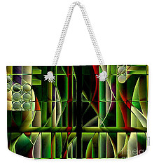 Stained Glass 2 Weekender Tote Bag