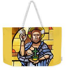 Jesus As Lord Weekender Tote Bag