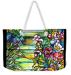 Stained Glass Tiffany Robert Mellon House Weekender Tote Bag