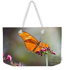 Stained Glass Wings Weekender Tote Bag