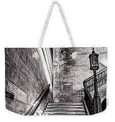 Stairs Of The Past Weekender Tote Bag by CJ Schmit