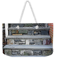Weekender Tote Bag featuring the photograph Stairs To The Plague House by RC DeWinter