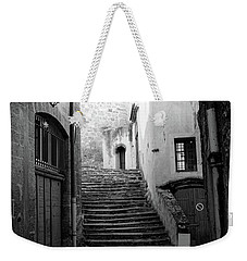 Stairs Worn By Time Weekender Tote Bag by Hugh Smith