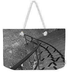Stairway In Black And White Weekender Tote Bag