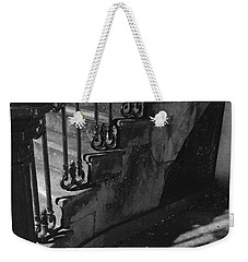 Stairway Lll Black And White Weekender Tote Bag