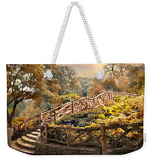 Weekender Tote Bag featuring the photograph Stairway To Heaven by Jessica Jenney