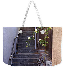 Weekender Tote Bag featuring the photograph Stairway To Heaven by Suzanne Oesterling