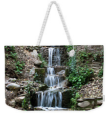 Stairway Waterfall Weekender Tote Bag