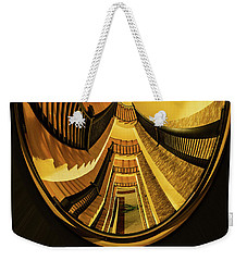 Stairwell Distorted Weekender Tote Bag