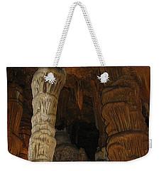 Stalacmites In Luray Caverns Va  Weekender Tote Bag by Ausra Huntington nee Paulauskaite