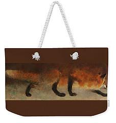 Stalking Fox Weekender Tote Bag