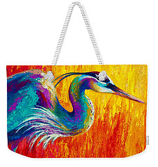 Stalking The Marsh - Great Blue Heron Weekender Tote Bag