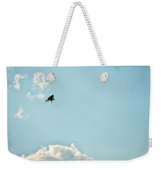 Weekender Tote Bag featuring the photograph Stalling by Richard Bean