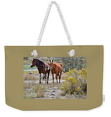 Stallion And Mare Weekender Tote Bag