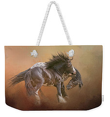 Stallion Play Weekender Tote Bag
