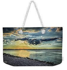 Stallion Sunset Weekender Tote Bag