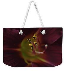 Stamen Of Day Lily Weekender Tote Bag