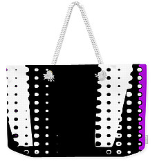 Weekender Tote Bag featuring the digital art Stamp by Bob Wall