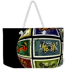 Stamp Collecting Around The World Weekender Tote Bag by Carol F Austin