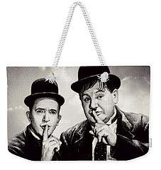 Stan And Ollie Comedy Duos Weekender Tote Bag