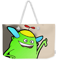 Weekender Tote Bag featuring the drawing Stan Dupp by Uncle J's Monsters