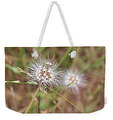 Weekender Tote Bag featuring the photograph Stand Back by Marie Neder