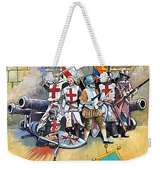 Stand Off At Cuvre Port Weekender Tote Bag