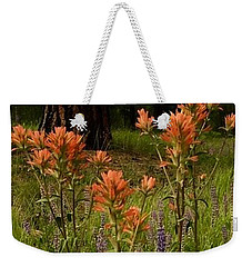 Weekender Tote Bag featuring the photograph Stand Out In The Crowd by Jennifer Lake