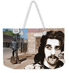 Standin On The Corner Weekender Tote Bag