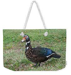 Standing Duck Weekender Tote Bag by Rob Hans