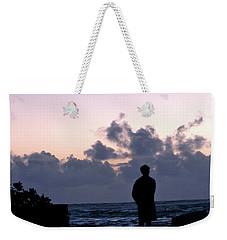 Standing In Kapoho's Morning Light  Weekender Tote Bag