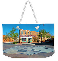 Standing On A Corner Weekender Tote Bag by Charles Ables