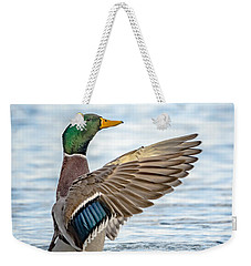 Weekender Tote Bag featuring the photograph Standing Ovation by Steven Santamour