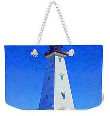 Standing Proud Lighthouse Weekender Tote Bag