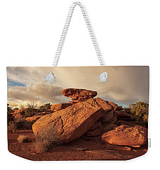 Standing Rocks In Canyonlands Weekender Tote Bag