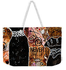 Standing Steadfast In Love And Kindness Weekender Tote Bag