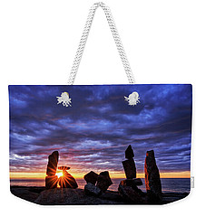 Standing Stone Halibut Pt Sunstar Rockport Ma Weekender Tote Bag